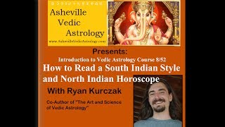 How to Read a South Indian and North Indian Horoscope - Introduction to Vedic Astrology Course 8/52