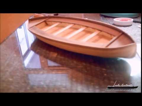 building titanics lifeboat model maqueta bote