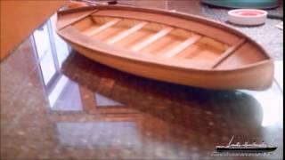 Building TITANIC`S Lifeboat model / Maqueta bote salvavidas del TITANIC