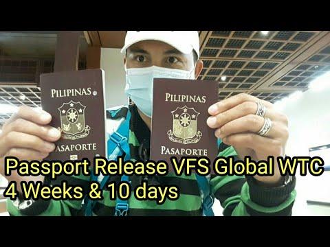 PASSPORT RELEASE 4 WEEKS \u0026 10 DAYS VFS GLOBAL WTC ABU DHABI indir