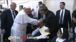 Pope Francis performs live exorcism?