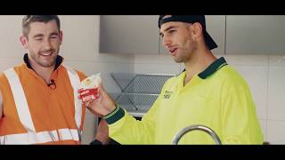 QUICK and EASY LUNCH IDEA for the TRADIES // Get Going Nutrition EP06