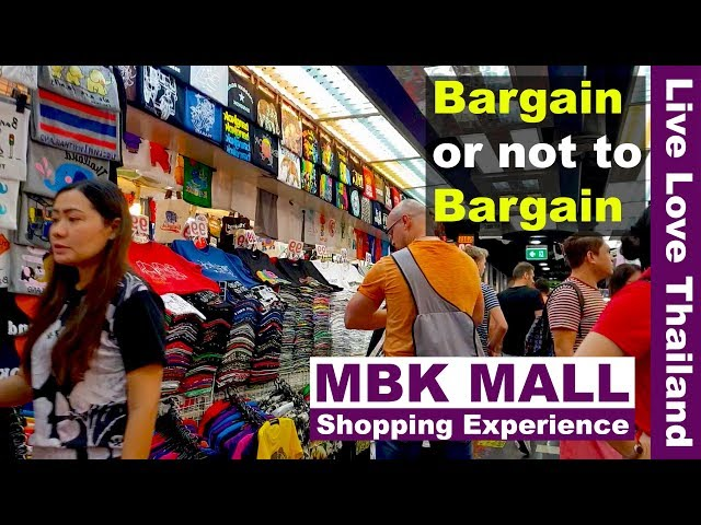 91cb0514da6 MBK mall Bangkok shopping experience - Bargain or not to Bargain  #livelovethailand - Bangkok Video | Bangkok Informer