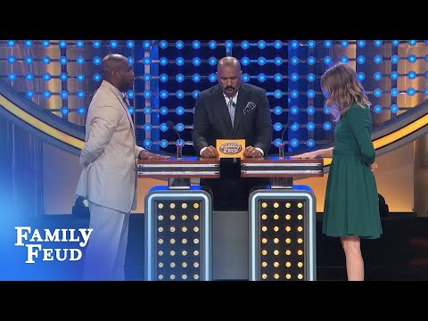 Now for the 3-DAY WIFE FORECAST: It'll be STORMY, COLD and... | Family Feud