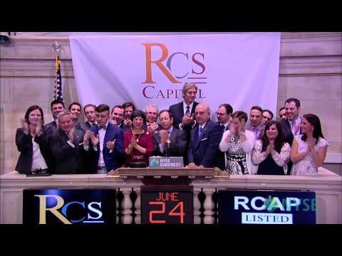 RCS Capital Corporation Celebrates Recent IPO