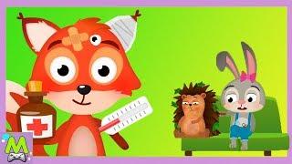 Лесной Врач-Ветеринар для Животных.Игры в Доктора в Лесу.Геймплей Игры