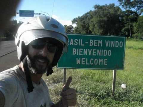 Viagem de moto 125cc São Paulo  USHUAIA