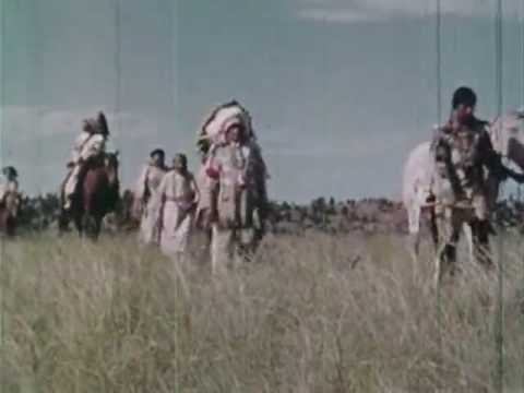 rare video of the plains indians
