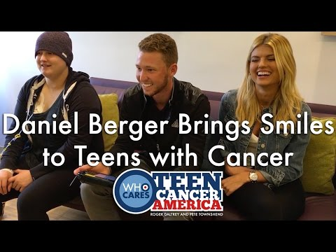 Daniel Berger Brings Smiles to Teens with Cancer