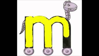 Letterland handwriting M