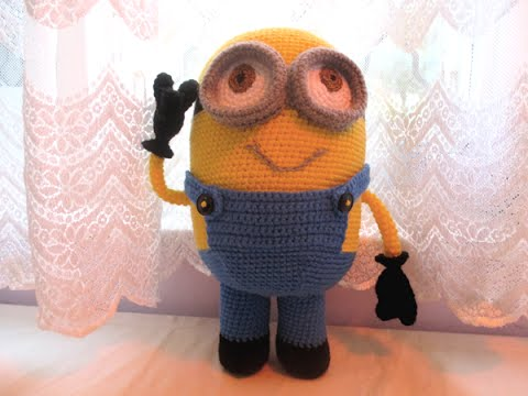 Dave the Minion Crochet Amigurumi | 360x480