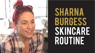 DWTS Sharna Burgess Gets Skincare Treatments at Parfaire