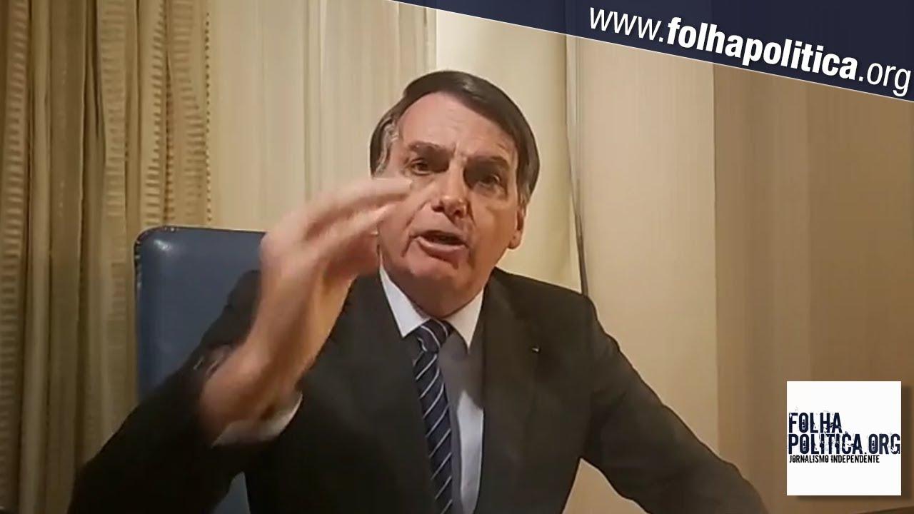 Bolsonaro faz live para responder à Globo: 'jornalismo podre, canalha, sem escrúpulos'