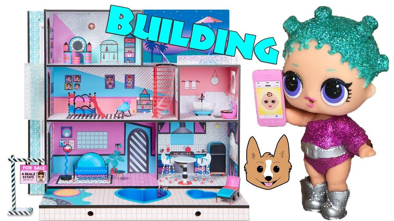 L O L Surprise House Unboxing Build Youtube