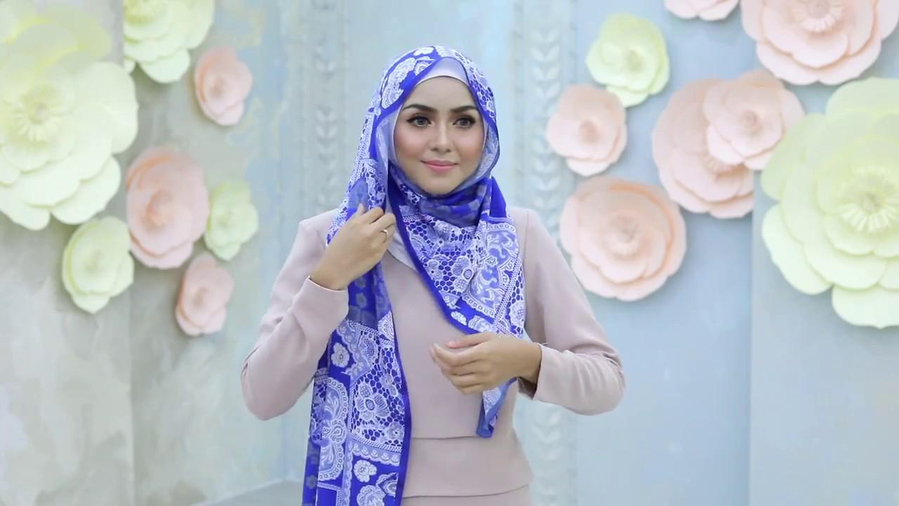 TUTORIAL CARA PEMAKAIAN JILBAB INSTAN Cara Cepat Memakai Jilbab