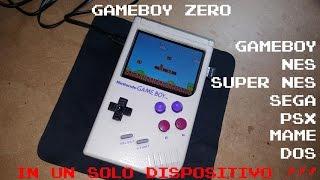 gameboy zero gbz raspberry pi primo progetto italiano