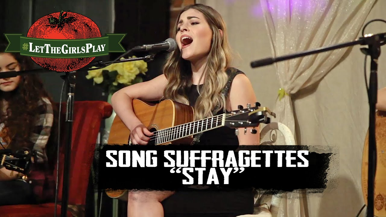 Sugarland Stay Cover Letthegirlsplay Youtube