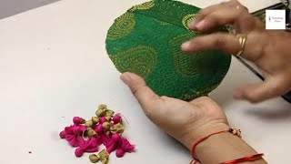 Beautiful Anar Latkan Design, Cutting And Stitching