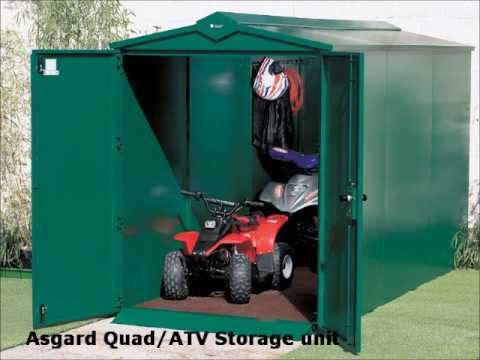 Wes Industries Cargo Box And Seat Atv Box Storage And