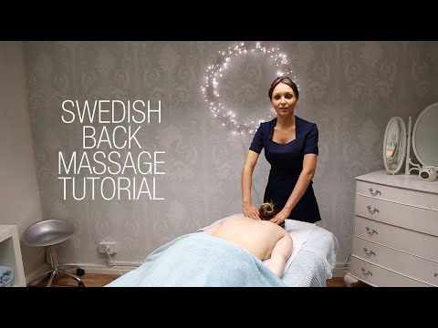 Basic Swedish Back Massage Techniques - Relaxing Step by Step Guide mp3 indir