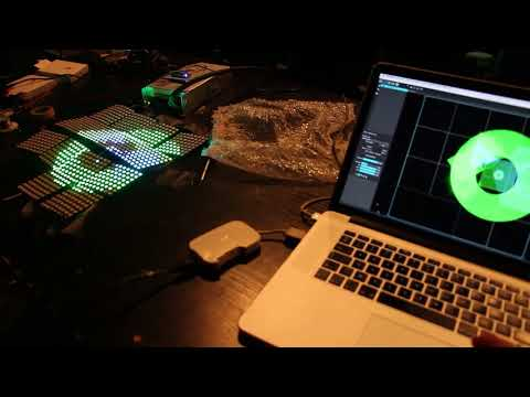 LED strip controlled with MadMapper 2 1 through arduino compatible
