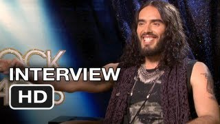 Rock of ages interview - russell brand - tom cruise movie (2012) hd