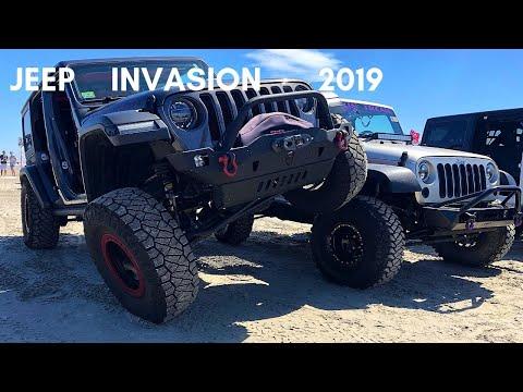 Jeep Invasion Wildwood New Jersey 2019 Youtube