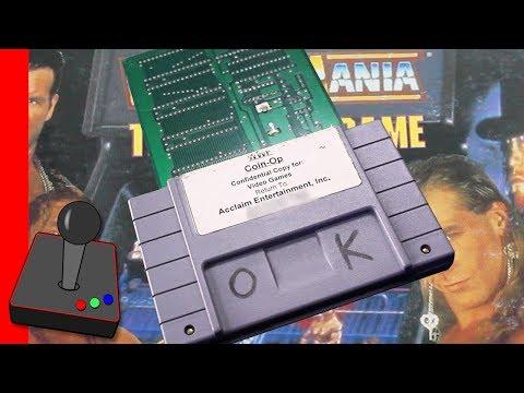 SNES Prototype Cart | WWF WrestleMania: The Arcade Game - H4G