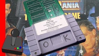 SNES Prototype Cart   WWF WrestleMania: The Arcade Game - H4G
