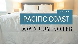Pacific Coast Down Comforter Review