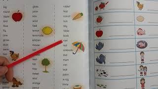 Học cùng con - tiếng anh lớp 1 - bé học từ vựng mới - chương trình UK english lớp 1.