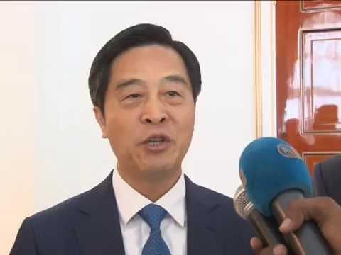 Le Chef de l'Etat reçoit le Président Directeur Général de la China Merchants Group