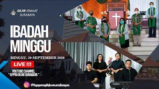 IBADAH MINGGU | 20 SEPTEMBER 2020 | GKJW JEMAAT SURABAYA