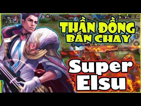 Liên Quân | Thần Đồng Super Elsu Phong Cách Bắn Tay Siêu Dị - Cướp MVP Của Team Dễ Dàng