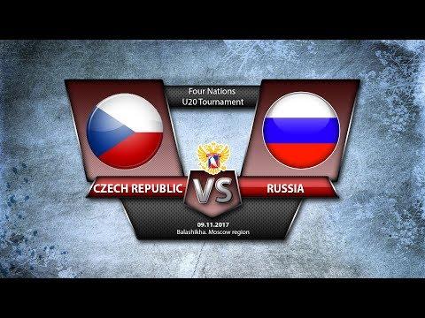 4 Nations. U20 Czech Republic - Russia
