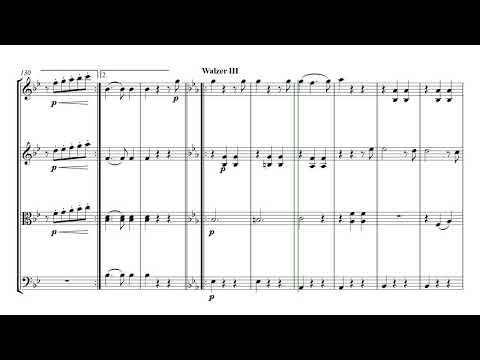 Strauss Tales from the Vienna Woods | String Quartet Sheet Music