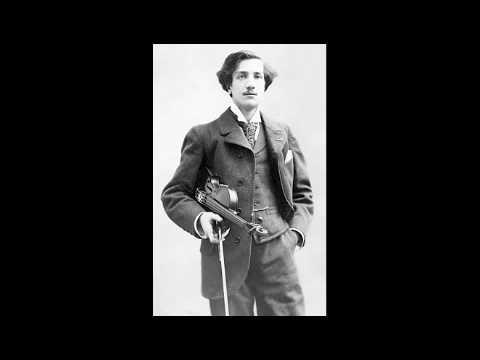Jacques Thibaud Mozart concerto n.3 3rd mvt