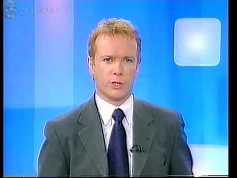 ITN News And whether Channel 5 25-6-2002 (VHS Capture)