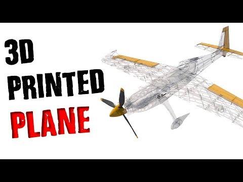 3D PRINTED PLANE! - MKme Blog