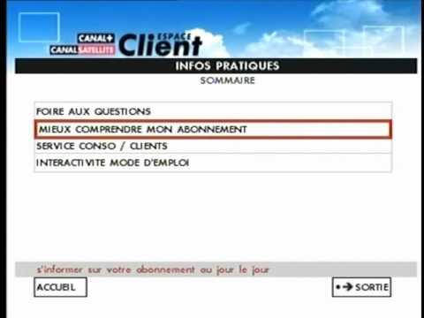 Espace client canalsat youtube - Canalsat espace client ...