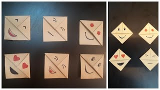 Easy paper bookmarks