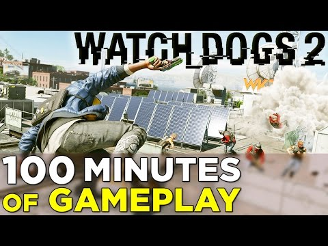 100 Minutes of WATCH DOGS 2 Gameplay! Side Missions, Open World Activities & More!
