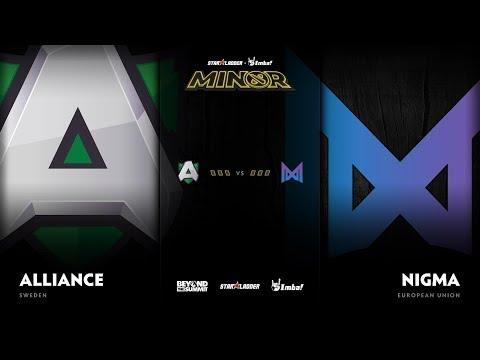Alliance vs Nigma vod