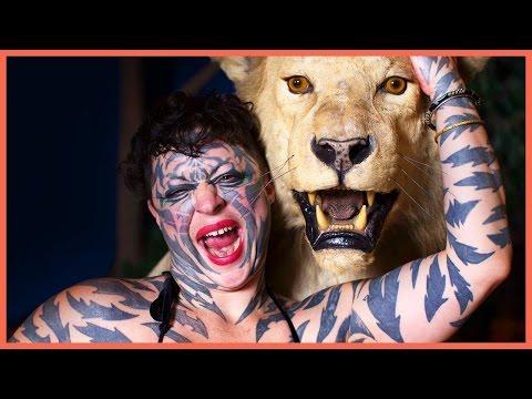 Tiger Woman: Tattooed Head to Toe thumbnail
