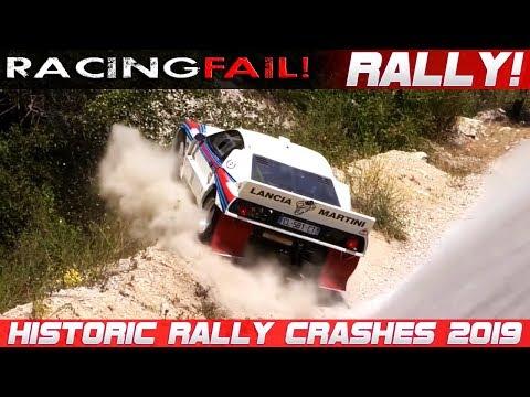 Historic Legend Rally Cars Crash Compilation 2019