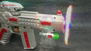 Space Gun (with Flash and Light)