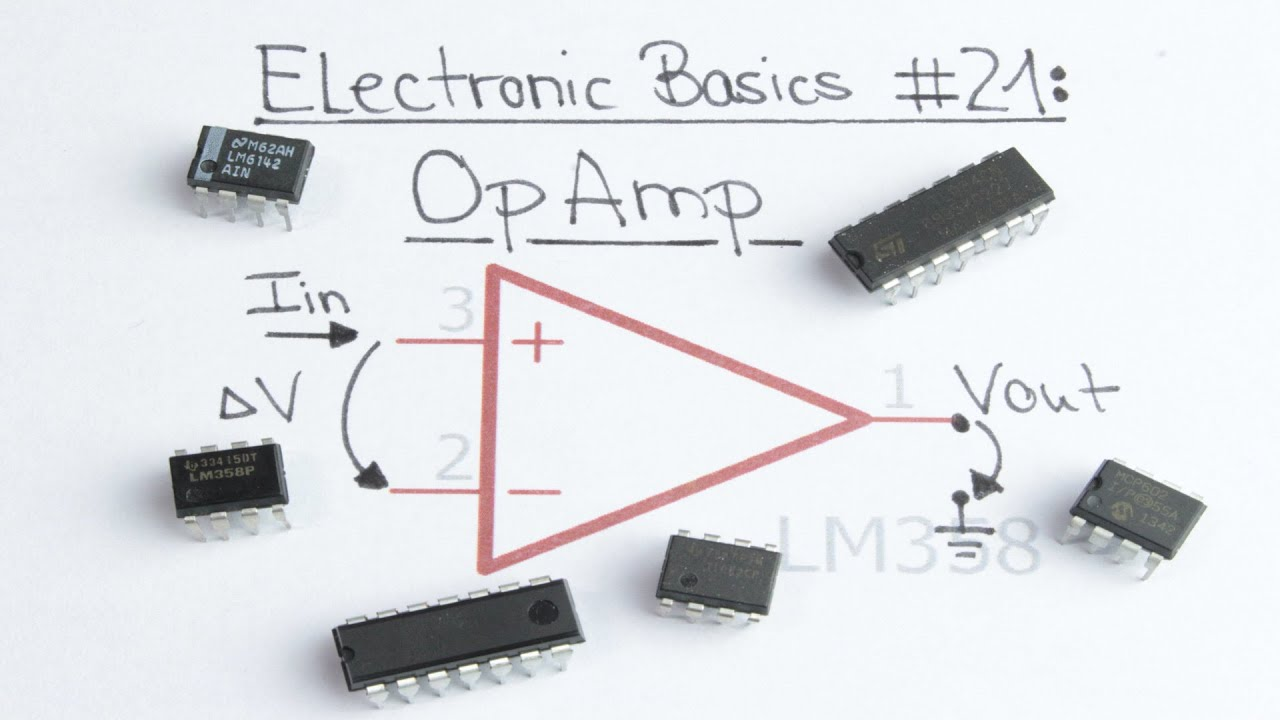 Electronic Component Diagrams Schematic Virneth Studios Science Circuits Basic Components Used In Enthusiast Wiring Line Basics 21 Opamp Operational