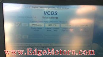 VW and Audi readiness monitors setting DIY by Edge Motors