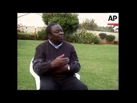 Police clash with protesters, Tsvangirai interview