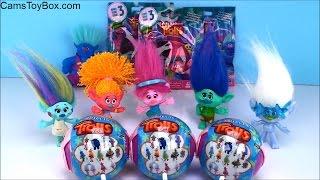 Trolls Series 3 Blind Bags Chupa Chups Lollipops Surprise Toys Fun Opening Dreamworks Kids